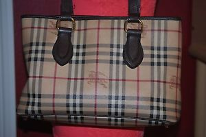 burberry check bag